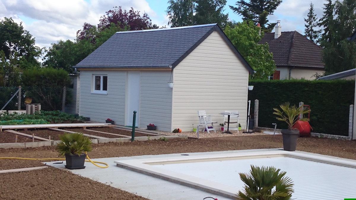 Abris de jardin pool house loches 37600 indre et loire - Abri de jardin pool house ...