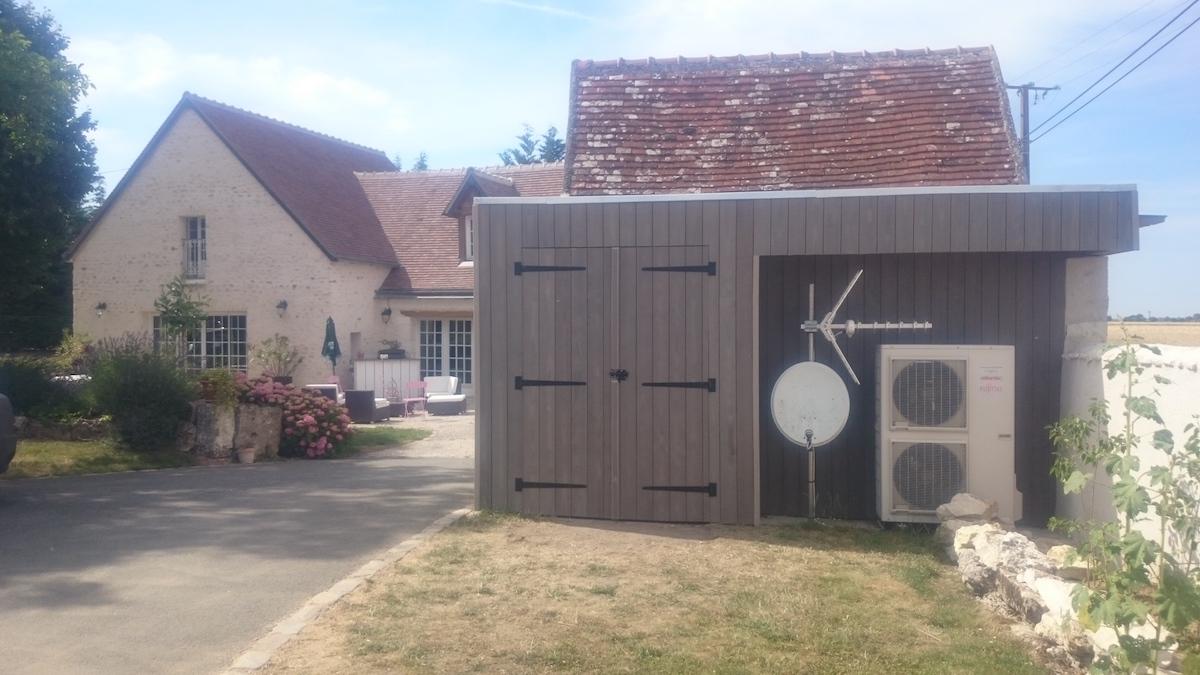 Abris De Jardin Pool House Loches 37600 Indre Et Loire # Abris De Jardin Atelier